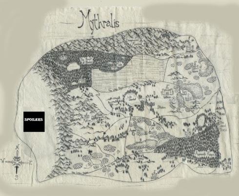 Mythralis Map Tabletop